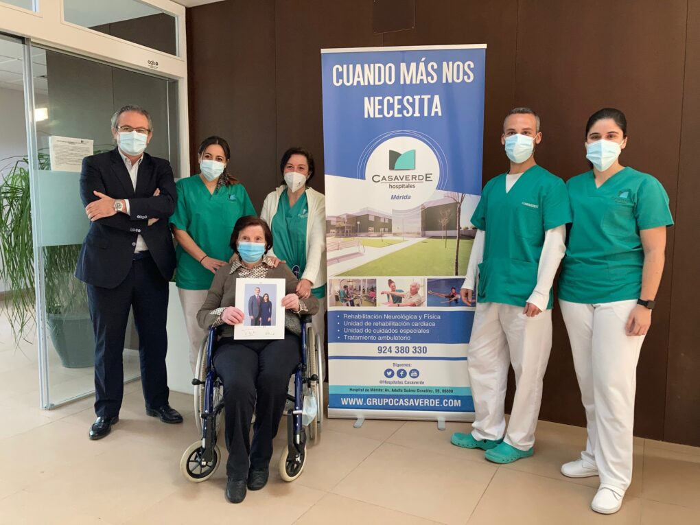Detalle de un Paciente de nuestro Hospital Casaverde Extremadura