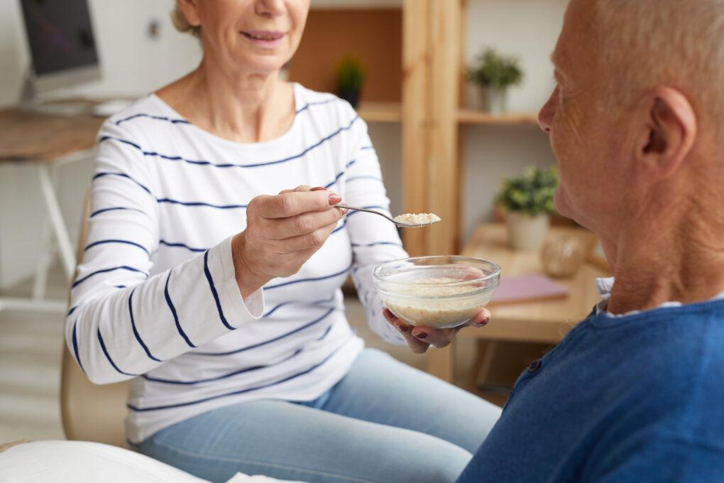 Feeding Elderly Patient 1020x680