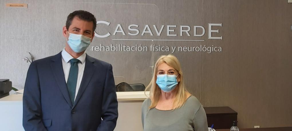 Visita a nuestro Hospital Casaverde Alicante la Concejala de Acción Social